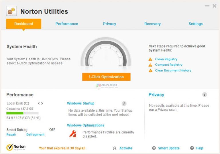 Norton Utilities Premium 21 Free Download