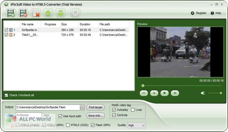 iPixSoft-Video-to-HTML5-Converter-3-Free-Download