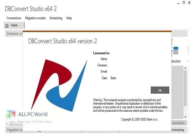 DBConvert Studio for Free Download