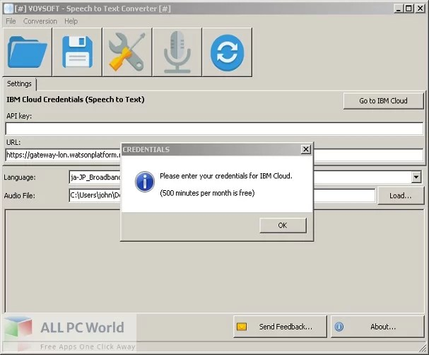 VovSoft Speech to Text Converter Free Download