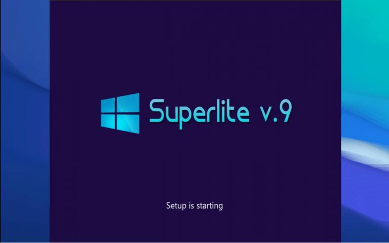 Windows 10 SuperLite Pro Free Download