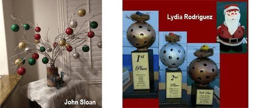 pickleball christmas craft
