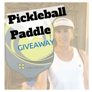 Pickleball paddle giveaway