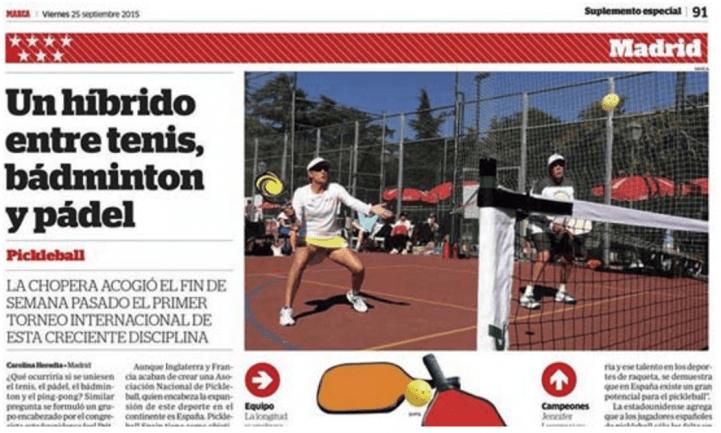 International Pickleball Tournament Spain
