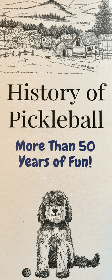 History of Pickleball Bookmark