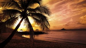 Attachment for full hd nature wallpapers 1080p desktop - sunset in the beach