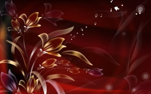 Abstract flower wallpaper for Photoshop background