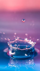 Free download wallpaper for Samsung Galaxy S5 with Water Drop picture