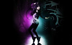 Picture of 20 Best Dance Wallpaper - No 4 Dance Picture - Girl in Dance Floor