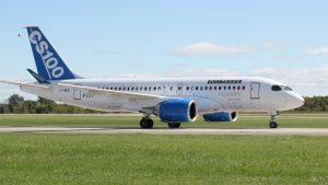 Airplane Images of Bombardier C Series - CS100