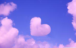 Heart Shaped Cloud 6 of 57 - Pink love cloud