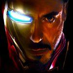 Iron Man Wallpaper - Face of Iron Man and Tony Stark (Robert Downey Jr.)