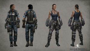 Attachment for Mortal Kombat X Characters - Jacqui Briggs Wallpaper