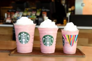 Pink Starbucks Wallpaper With New Mini Frappuccino Cup Hd