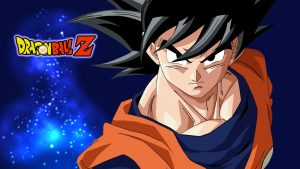 Attachment for Dragon Ball Z Wallpaper 25 of 49 - Son Goku Close Up