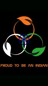 File to download for India Flag for Mobile Phone Wallpaper 10 of 17 - Proud to be an Indian