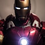 Iron Man Suit in Close Up for Wallpaper in 4K