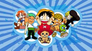 Attachment of One Piece Wallpaper - Childhood of the Straw Hat Pirates