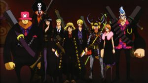 Attachment file of One Piece Wallpaper - The 9 Straw Hat Pirates Crew