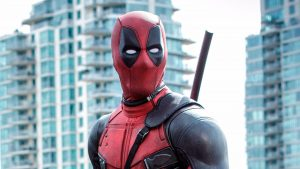 Close Up Photo Deadpool for Desktop Background