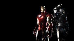Iron Man Mark VI and Machine War wallpaper