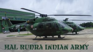 Picture of HAL Rudra Indian Army Helicopter