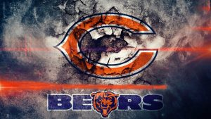 Chicago Bears logo wallpaper in HD 1080p