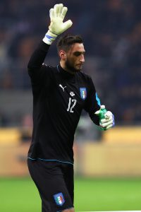 Gianluigi Donnarumma Pictures Italy VS Germany for wallpaper