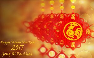 Free Download of Chinese New Year Background for 2017