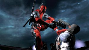 HD Resolution Deadpool Character Background free Download
