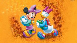 Mickey Mouse Autumn Wallpaper