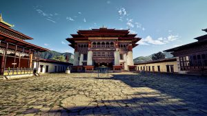 Punakha Dzong for Bhutan Tourism from India Series