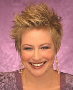 Short Spiky Haircuts For Thick Hair for women over 40