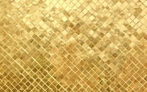 HD Wallpaper of 3D Gold Image for Photoshop Background