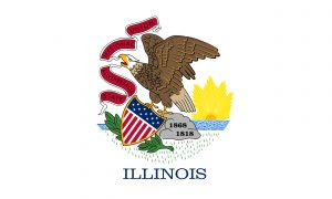 Picture Of Illinois Flag