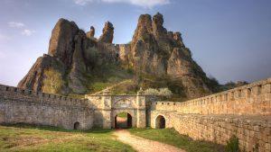 4K Picture with Belogradchik in Bulgaria