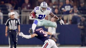 Badass Dallas Cowboys Wallpaper with Ezekiel Elliott