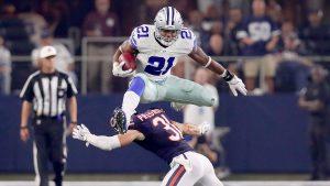 Badass Dallas Cowboys Wallpaper with Ezekiel Elliott