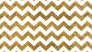 Gold Glitter Zig Zag Wallpaper