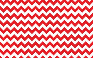 Red and White Zig Zag Background for Wallpaper