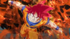 Son Goku Super Saiyan God - Dragon Ball Z Battle of Gods Wallpaper 10 of 49