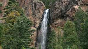 Full HD Nature Wallpaper 1080p with Picture of Treasure Falls Near Pagosa Springs