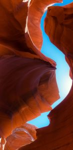 Samsung Galaxy Note 8 Wallpaper with Antelope Canyon in Arizona