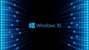 Windows 10 Wallpaper HD 3D For Desktop Black