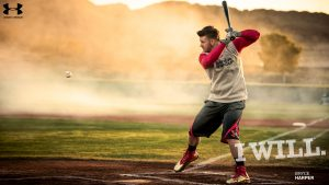 Cool Under Armour Wallpapers with Bryce Harper