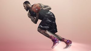 LeBron James Shoes Wallpaper by NIKE