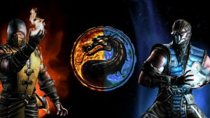 Scorpion Mortal Kombat Pictures - Scorpion vs Sub Zero