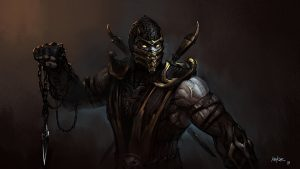 Artistic Images Of Scorpion From Mortal Kombat by Kekse0719