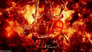 Pictures Of Scorpion From Mortal Kombat on Fire with HD Resolution