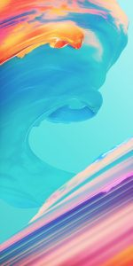 Picture of Colorful Waves in Abstract for Xiaomi Redmi 5 Plus Wallpaper